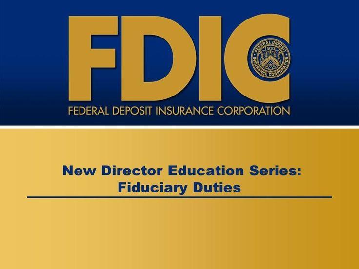 New Director Education Series: Fiduciary Duties