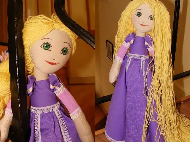 Rapunzel - Handmade by TLC