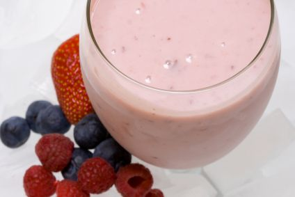 Dr. Oz's 30/30 Ingredients  1 cup Greek yogurt  1/3 cup almonds  ½ cup berries     Directions  Add Greek yogurt, almonds and berries to a blender. Blend until smooth.