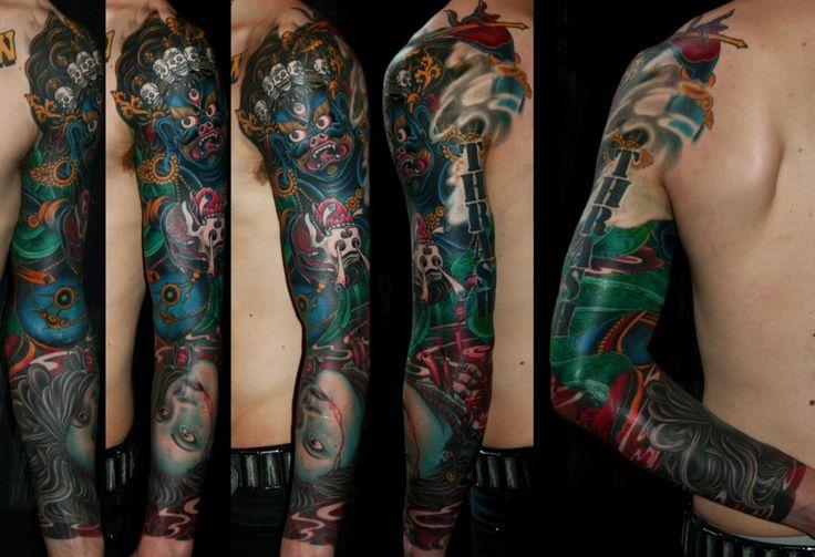 King Tattoos Designs King Carlos Sleeve Tattoo King