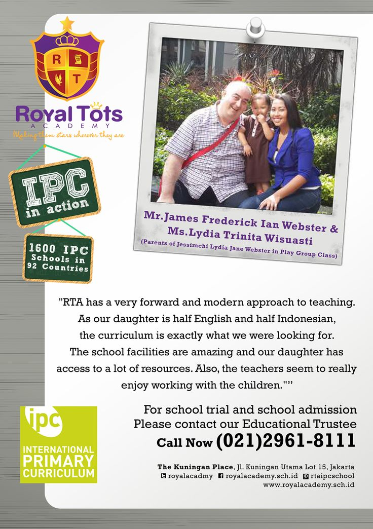 Mr.James Frederick Ian Webster & Ms.Lydia Trinita Wisuasti (Parents of Jessimchi Lydia in PlayGroup Class)   #Parent #IPC #School #Testimony