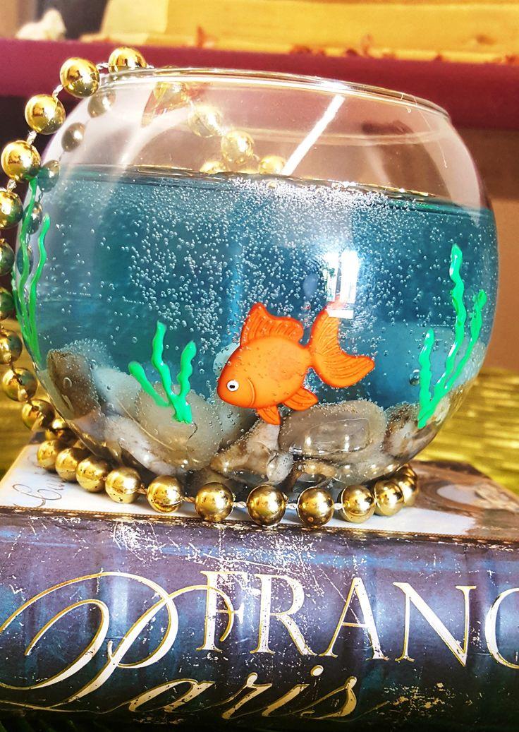 Hand-Made Aquarium Gel Candle Undersea Ocean Seashore Thema