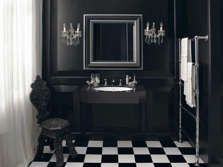 661 best Badezimmer Gestaltungsideen images on Pinterest - badezimmer schwarz weiß