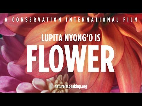 Nature Is Speaking – Lupita Nyong'o is Flower | Conservation International (CI) - YouTube