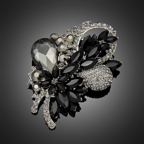 Nuovi monili di modo di cristallo spilla pins ciondolo zircone Spille per le donne di nozze regali del partito