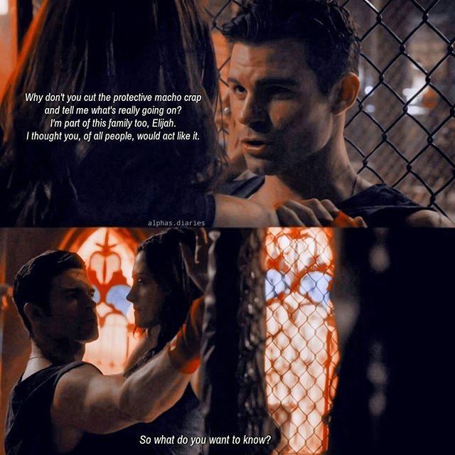 #TheOriginals #3x04 - Hayley and Elijah