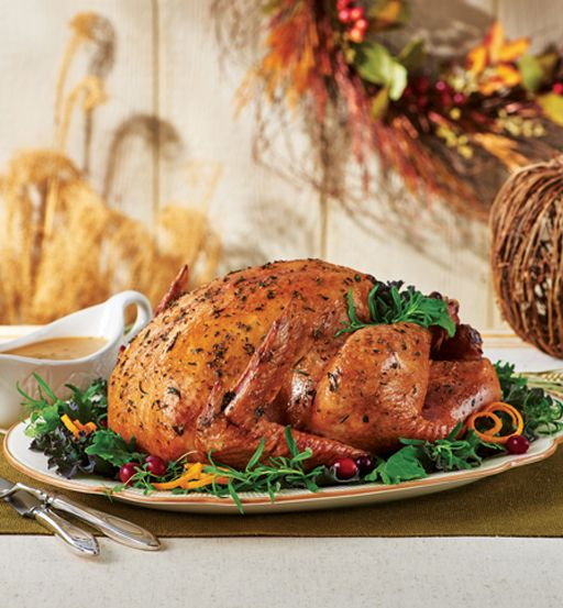 Herb Roasted Turkey with Pan Gravy - Smackchow.com