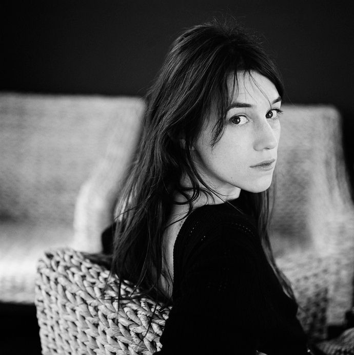 """Charlotte Gainsbourg """"I don't want that aggressive attitude you need to have today. In every job, it seems you have to believe in yourself, give a message, be very positive. Maybe I am very positive deep down but I don't like giving this message... I don't know why,"""""""