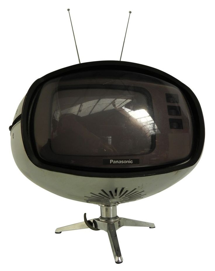 Panasonic TV, via Retro Thing.