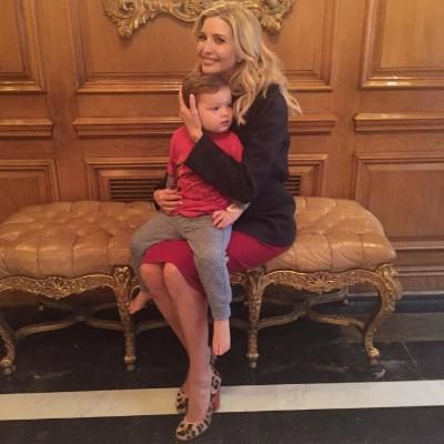 Buzzing: Pregnant Ivanka Trump Is Serenaded By Her Two-Year-Old Son