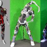 Robot met skelet en spieren  Kenshiro is een robot van de universiteit van Tokyo, en wat de wetenschappers hier hebben gedaan is zoveel mogelijk bouwen zoals het menselijk lichaam in elkaar zit wat betreft spieren en skelet. De robot lijkt uiteindelijk nog het meest op een kind van een jaar of 12. De unieke spieren (160 in totaal) laten hem bewegen.