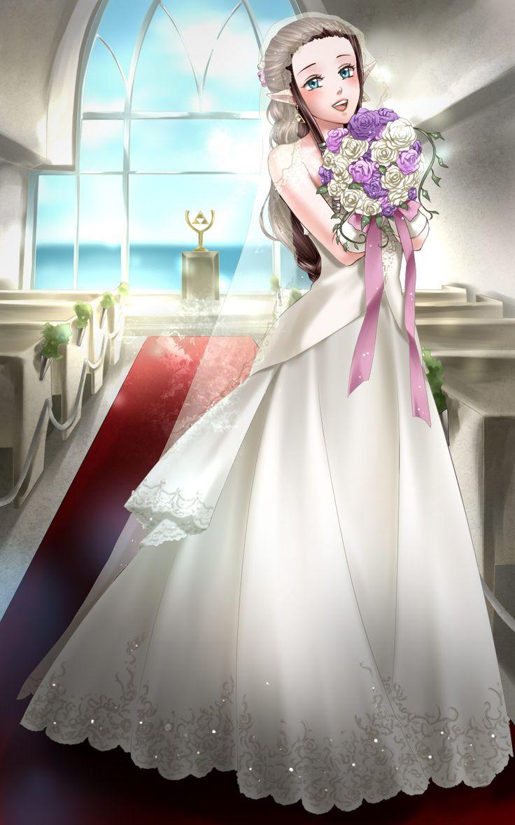 Zelda wedding dress  PZelda  Animeus Next Top Model Cycle   Pinterest