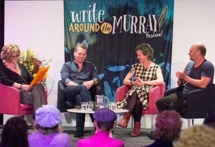 Albury Libraries' Write Around the Murray Festival: Cli-FI Panel Session featuring Tim Flannery