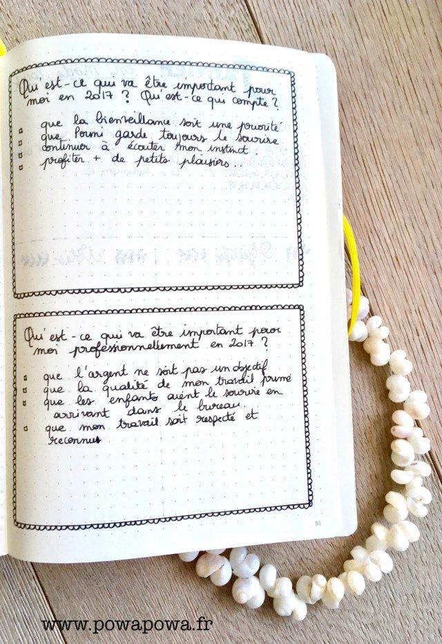 Boîte à idées pour bullet Journal Archives - P o W a