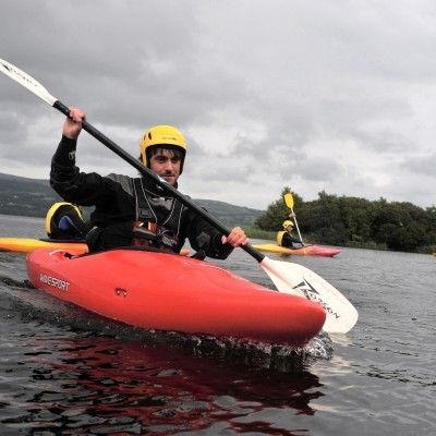 Kayaking course, learning the basics