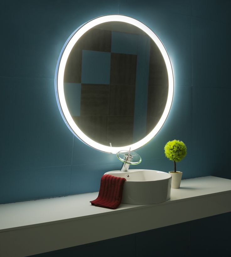 1000 Ideas About Circle Mirrors On Pinterest: 25+ Best Bathroom Mirror Lights Ideas On Pinterest