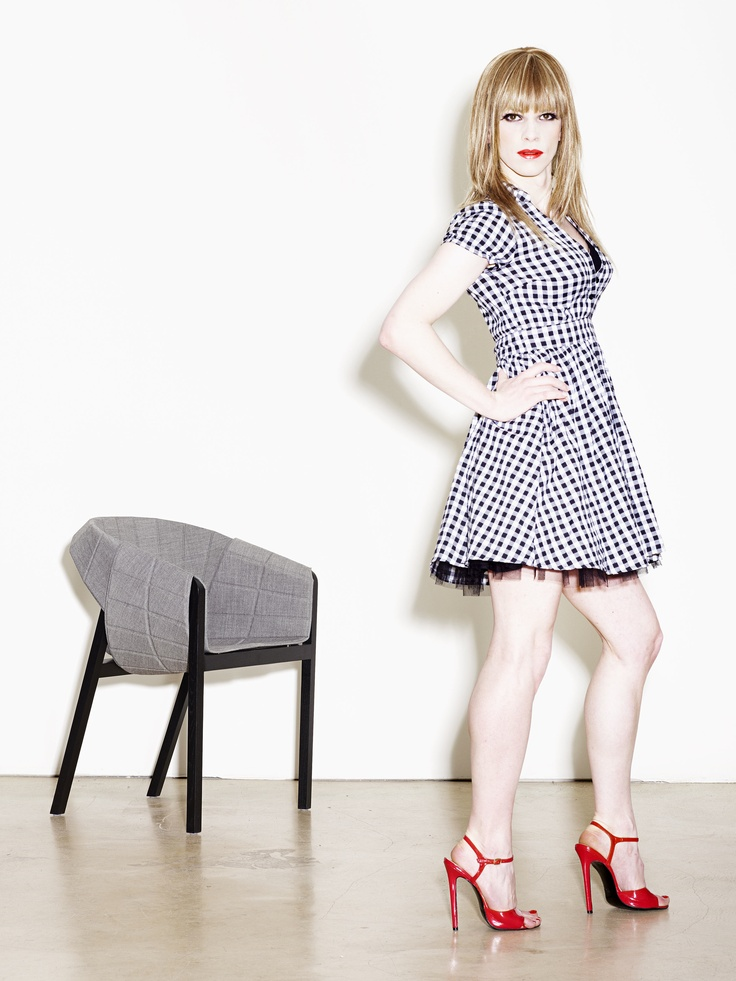 Milo Keller for Wogg 2009- dressed like a chair- covergirl