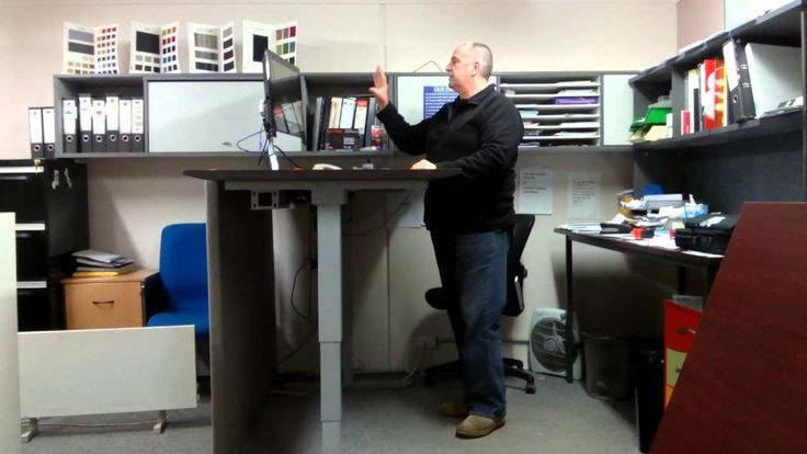 How to use your Sit Stand Desk