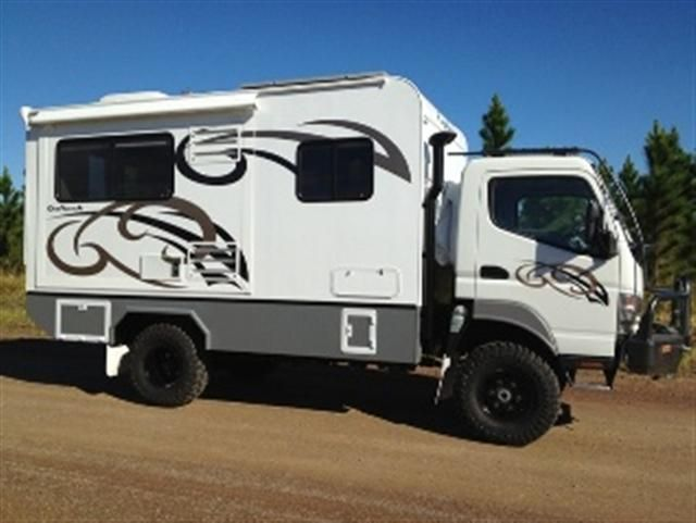 Host expedition campers Mitsubishi Fuso 4x4 http://www ...