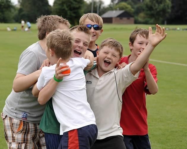 Cricket academy for Wisbech Town CCs Junior Community Cricket Week.