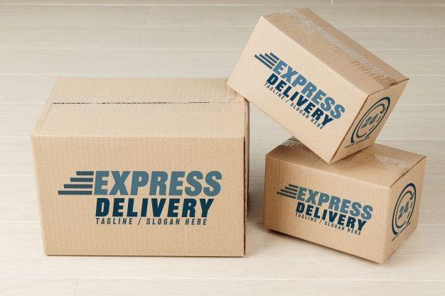 Paper Cardboard Boxes Mockup In 2020 Box Mockup Business Card Mock Up Stationery Mockup