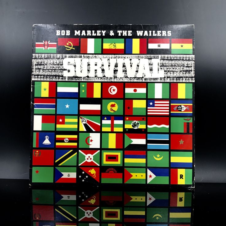 RARE: Bob Marley & The Wailers - Survival - Reggae Vinyl Record - Roots Reggae Music - LP by VinylLoversUnite on Etsy