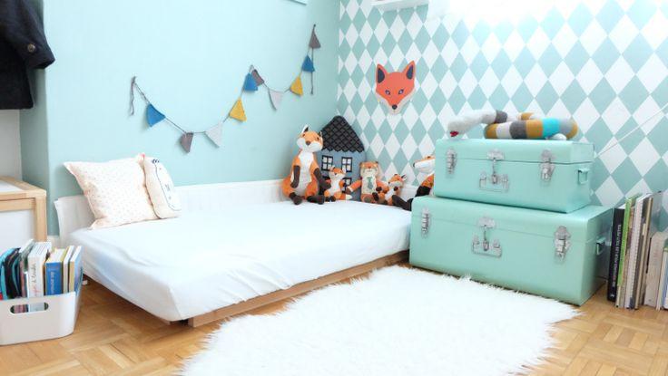 Semaine Montessori : (5) Chambres d'enfants d'inspiration Montessorienne - Deco Kids & Co