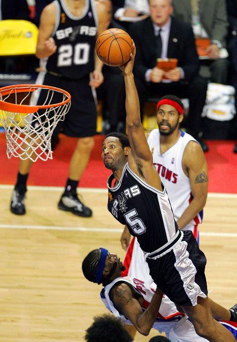 Robert Horry... awwww.... best play in 2005 Finals vs Pistons.