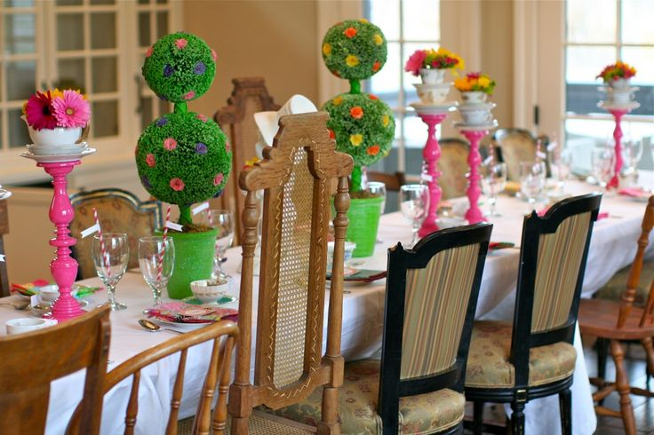 {Ideas for an Alice in Wonderland-themed party} - see more ideas at projectnursery.com! #kidsparty: Birthday Parties, Alice In Wonderland, Wonderland Party, Neat Ideas, Wonderland Themed Party, Long Table, Alice Wonderland, Party Ideas, Birthday Party