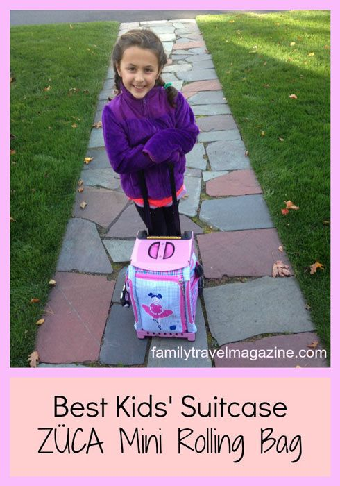 The best kids' suitcase for travel
