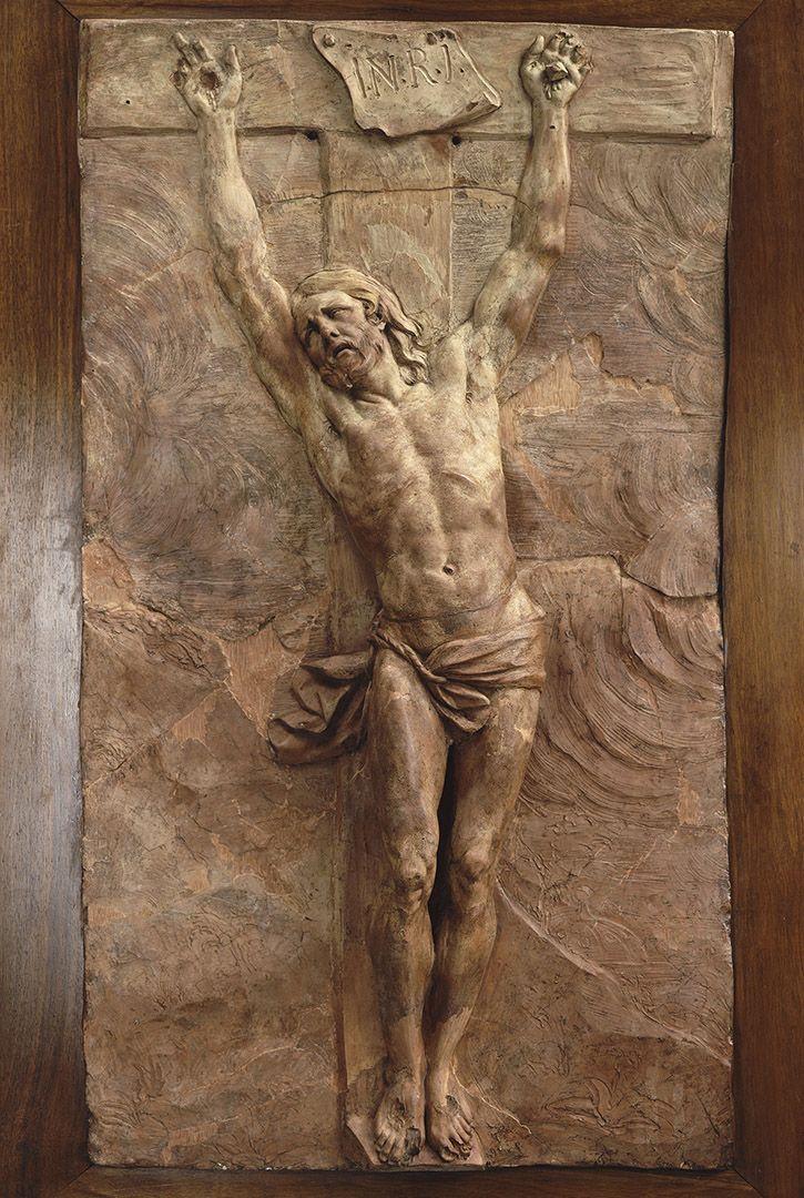 Christ mourant sur la Croix | Puget, Pierre (1620-1694). Artiste