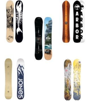 The Top Freeride Snowboards: My Top 5