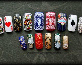 13 best vegas nails images on pinterest las vegas nails fun fake nails viva las vegas handpainted nail art prinsesfo Choice Image