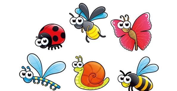 Cute Cartoon Insect Vector Material Pictures To Draw Pinterest Cartoon Insects And