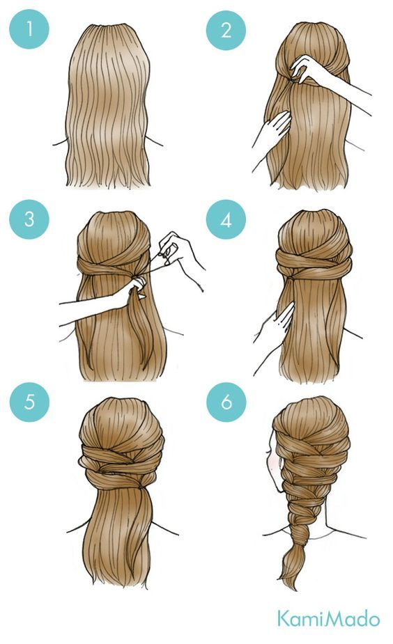 Here is a quick and easy style you can create just by using ponytails! Not all of us are skilled bobby-pinners, so if a hair elastic is more your speed, we've got you covered! Try Spraying hair hall over with Style Sexy Hair Play Dirty before starting, for more texture and control.https://www.sexyhair.com/play-dirty-dry-wax.html