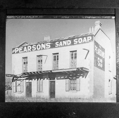 https://flic.kr/p/aCstxH | McGinlay's store, East Maitland, NSW, Australia, 1940, with Pearson's sandsoap advertisement | Source: livinghistories.newcastle.edu.au/nodes/view/14791  This image was scanned from a film negative in the Athel D'Ombrain collection [Box Folder B10398] held by Cultural Collections at the University of Newcastle, NSW, Australia.  This image can be used for study and personal research purposes.  If you wish to reproduce this image for any other purpose you must obtain…