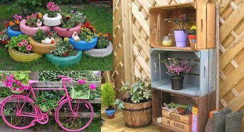 jardines reciclados - Buscar con Google