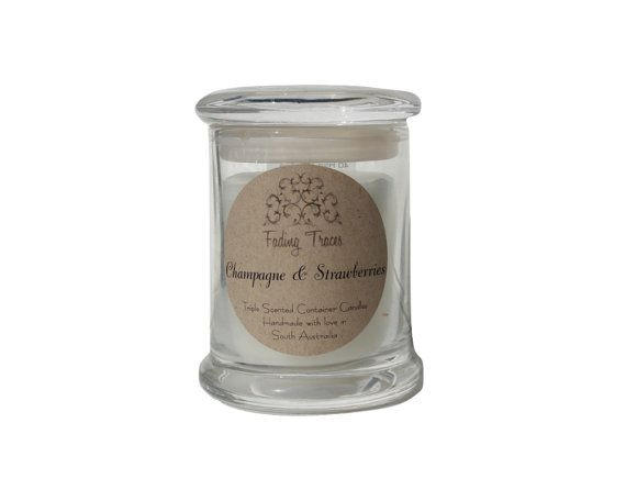 Fading Traces Triple Scented Container Candles are created using the highest quality non-toxic wax and only using 100% organic cotton wicks