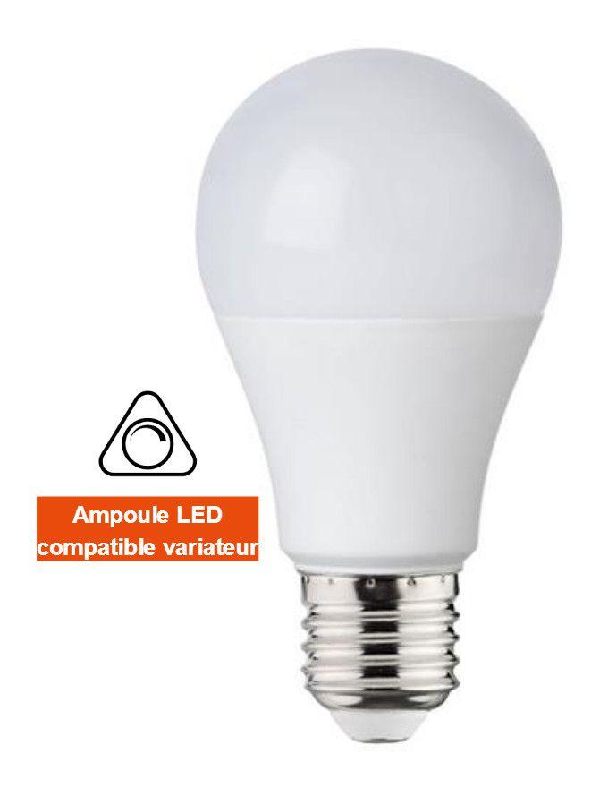 Ampoule Led Standard Dimmable 10w Eq 80w E27 3000k Horoz