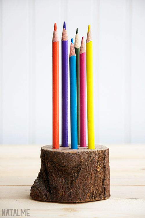 17 best images about creative projects on pinterest Cool pencil holder ideas