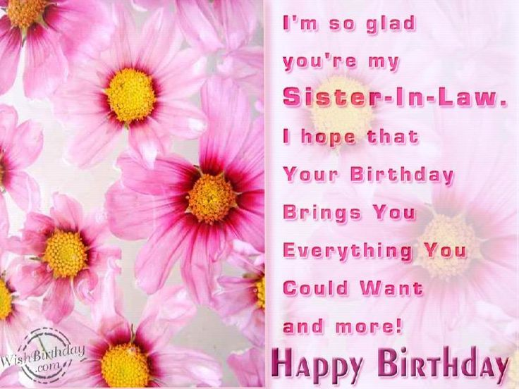 29 best birthday images – Birthday Greetings to a Sister Quotes
