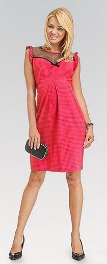 Pin up raspberry нарядное платье для будущих мам