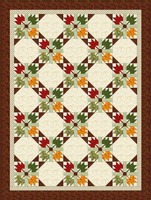 Sew a Quilt from an All-Time Favorite Design, Maple Leaf: Meet the Quilt Pattern