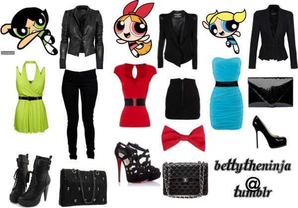 """Powerpuff Girls .."" by stylishbetty ❤ liked on Polyvore"
