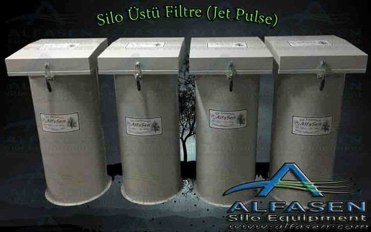 Silo Filtresi, Silotop | AlfaSen Silo Üstü Filtre