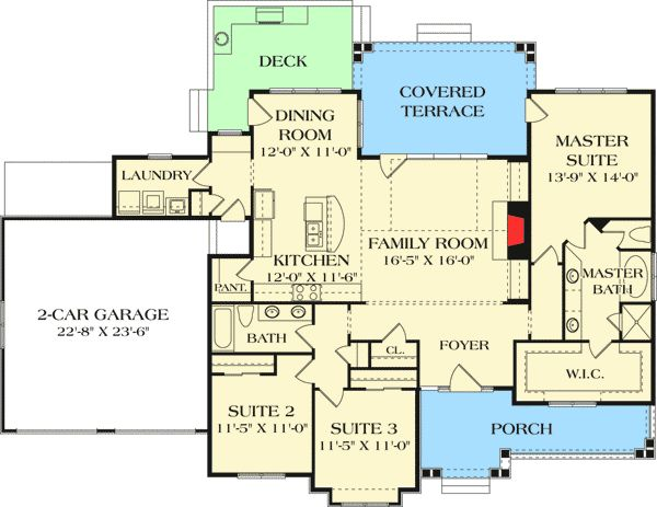 1000 ideas about craftsman home plans on pinterest for Detailed house plans