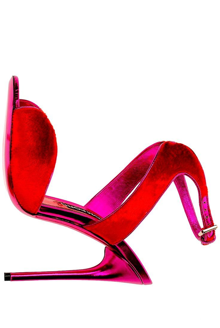 Red And Pink Heels - Is Heel