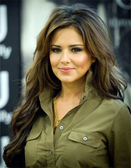 Cheryl Cole / her hair is beautiful here