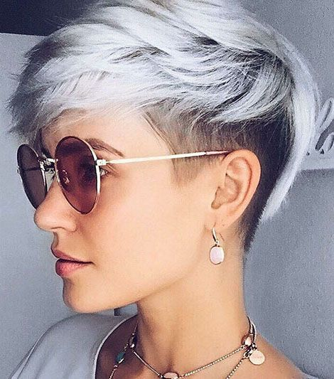 30+ Shaved Sides Haircut Female Ideas in 2019