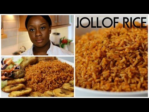 NIGERIAN JOLLOF RICE | Video Recipe | Ivonne Ajayi.